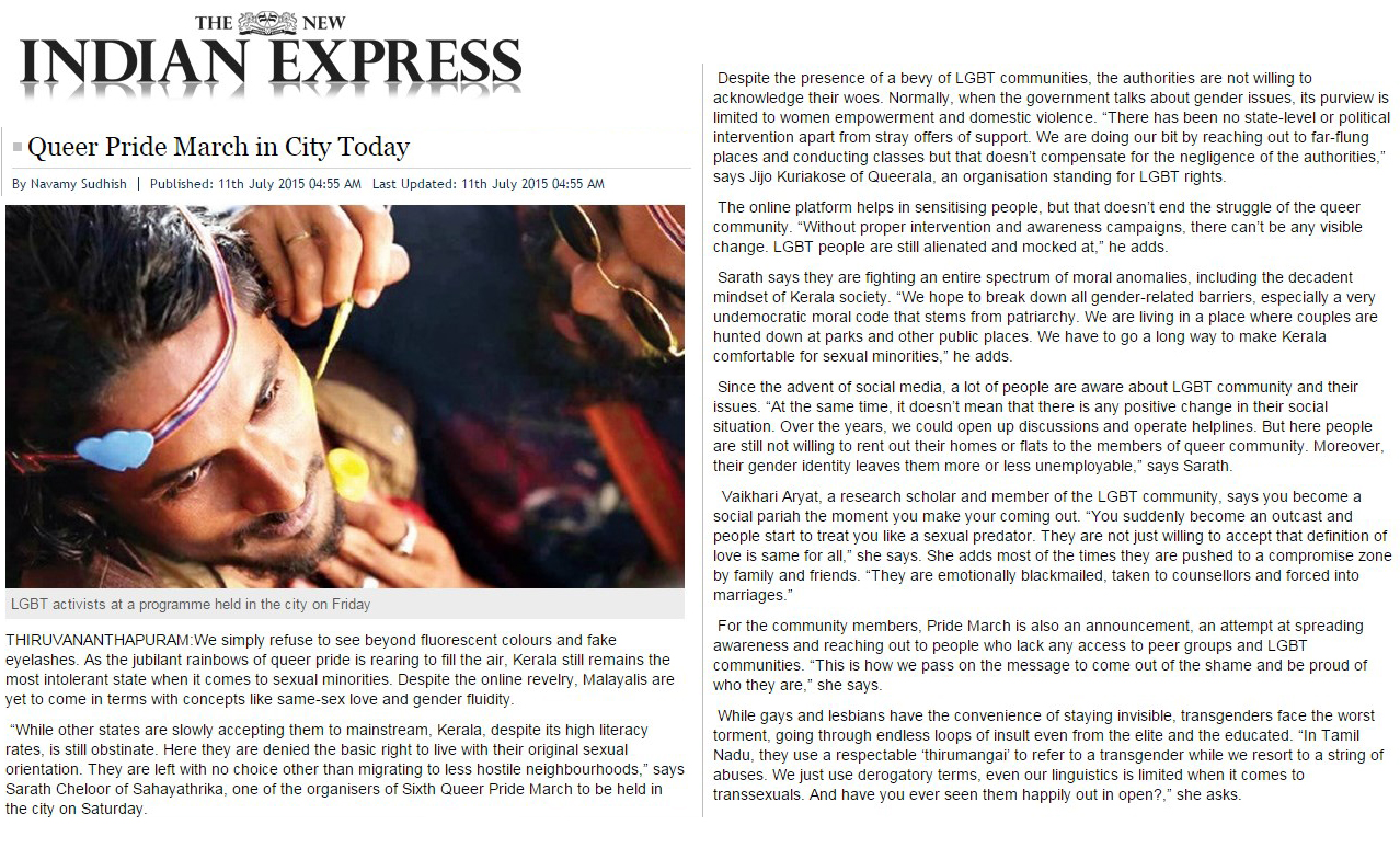 the new Indian express 2